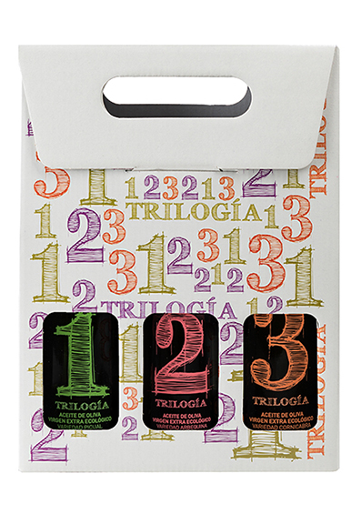 Pack de 3 botellas de 250 ml Trilogía