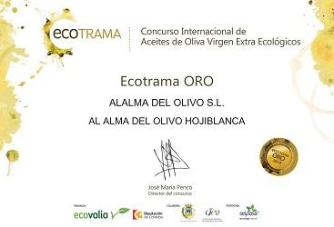 MEDALLA DE ORO/ECOTRAMA 2019 1